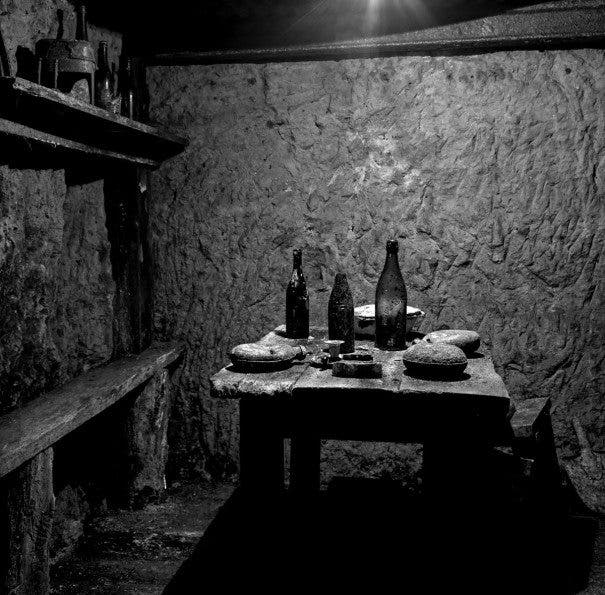 French Soldiers' Dining Area Underground