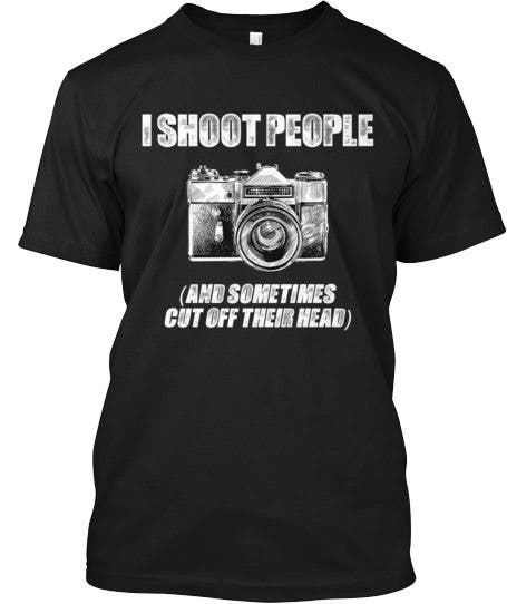 I shoot people front