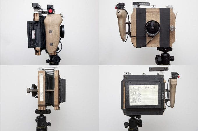 The Building of A Homemade 4x5 Polaroid Camera