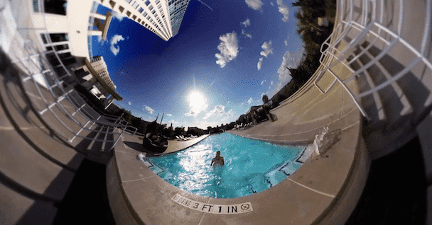 This Music Video WAs Filmed with a 360 GoPro Rig