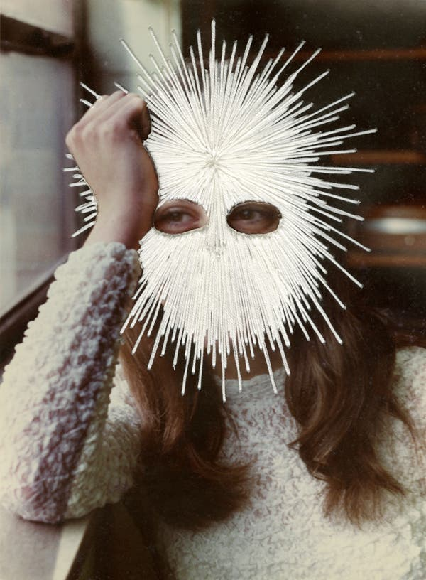 Jessica Wohl, White Mask, 2012 © Jessica Wohl, courtesy Robert Mann Gallery