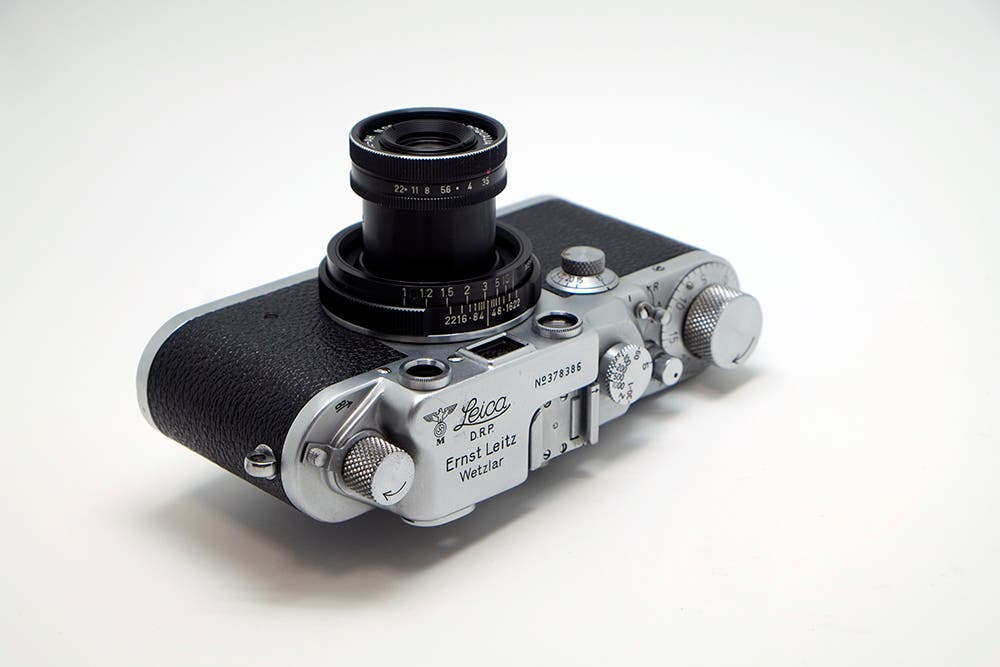 This Rare Leica Rangefinder Has Nazi Markings