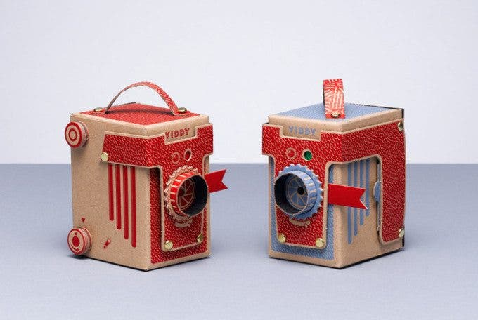 Viddy, a DIY Pinhole Camera You Can Assemble in 30 Minutes