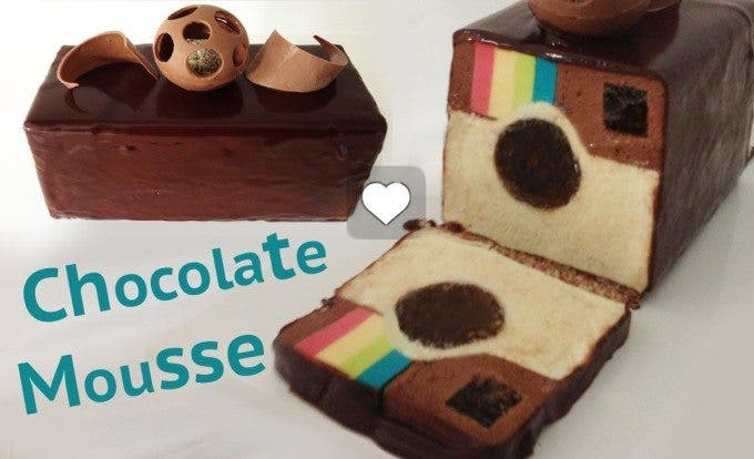 Video thumbnail for youtube video Make Chocolate Mousse in the Shape of the Instagram Logo - The Phoblographer