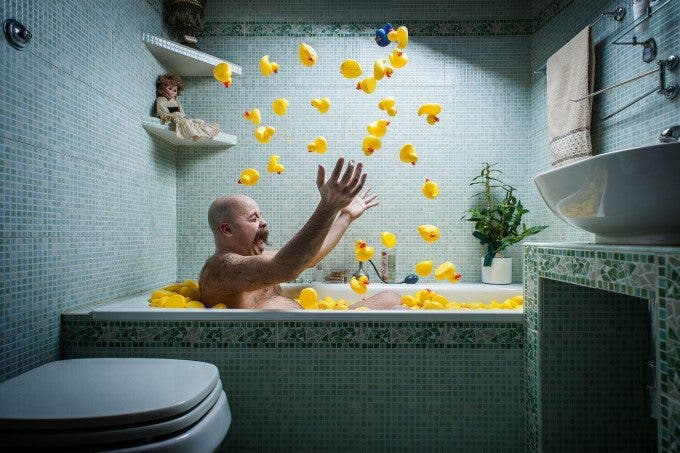 "Creating the Photograph: Nicola Bernardi's ""What the Duck is Going on?"""