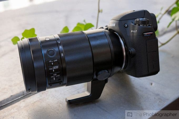 Kevin Lee The Phoblographer Samsung NX 50-150mm f2.8 S Product Images (3 of 10)