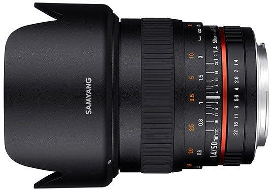 Kevin Lee The Phoblographer Samyang 50mm f1.4 AS UMC lens Product Images 1