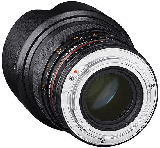 Kevin Lee The Phoblographer Samyang 50mm f1.4 AS UMC lens Product Images 2
