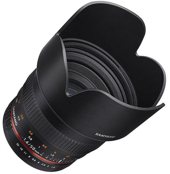 Kevin Lee The Phoblographer Samyang 50mm f1.4 AS UMC lens Product Images 3