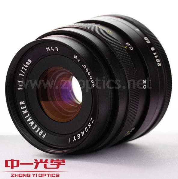 Kevin Lee The Phoblographer Zhongyi Mitakon 24mm f1.7 Lens Product Images 1