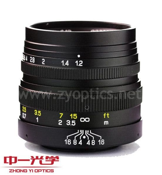 Kevin Lee The Phoblographer Zhongyi Mitakon 42.5mm f1.2 Lens Product Images 1