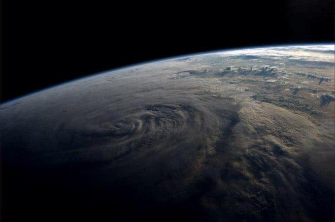 This is Typhoon Halong of the coast of Taiwan. Photo courtesy of Reid Wiseman/NASA