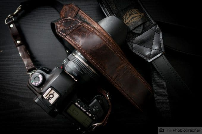 Chris Gampat The Phoblographer Heavy Leather Classic Strap review images (1 of 8)ISO 4001-50 sec at f - 2.5