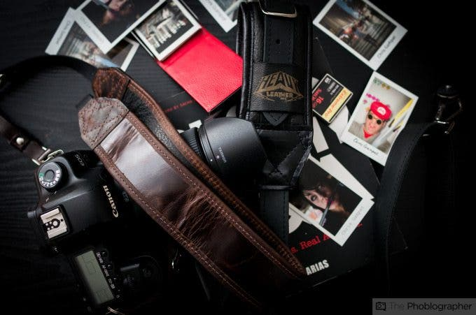 Chris Gampat The Phoblographer Heavy Leather Classic Strap review images (3 of 8)ISO 4001-50 sec at f - 2.5