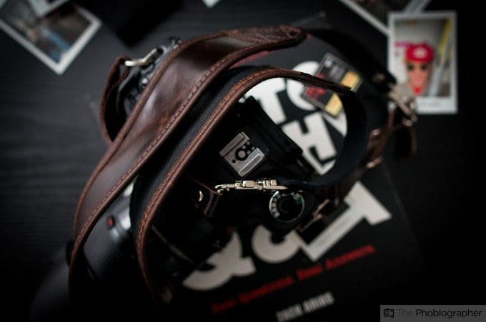 Chris Gampat The Phoblographer Heavy Leather Classic Strap review images (7 of 8)ISO 4001-50 sec at f - 2.5
