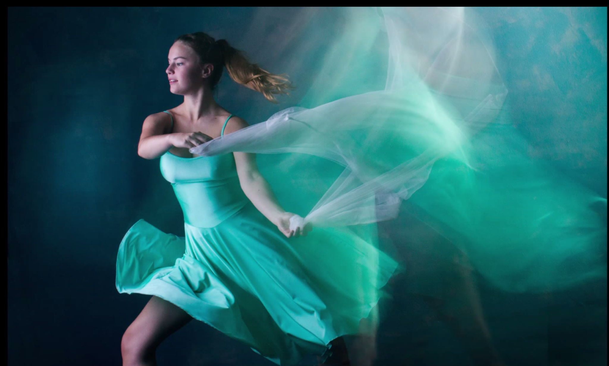 Photographing Dancers with Second Curtain Flash