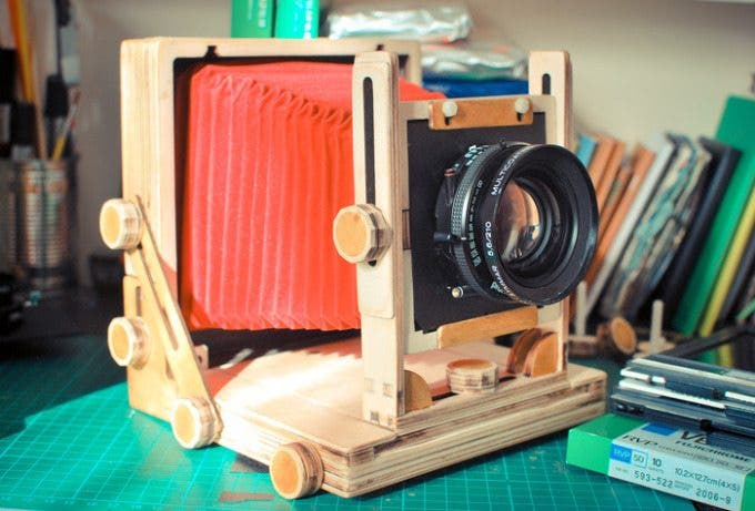 The Affordable 4x5 camera