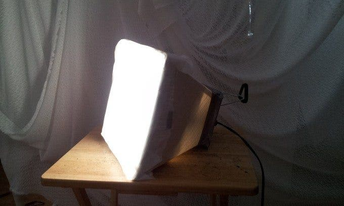 Make Your Own DIY Softbox for Under $20