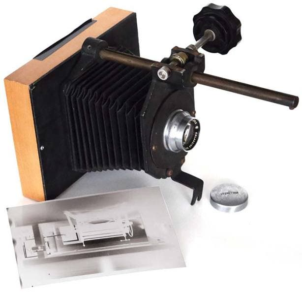 This Camera was Created Using an Old School Film Enlarger