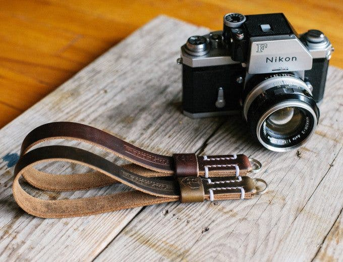 Kevin Lee The Phoblographer Legacy Horween Chromexcel Olive and Brown Strap 1