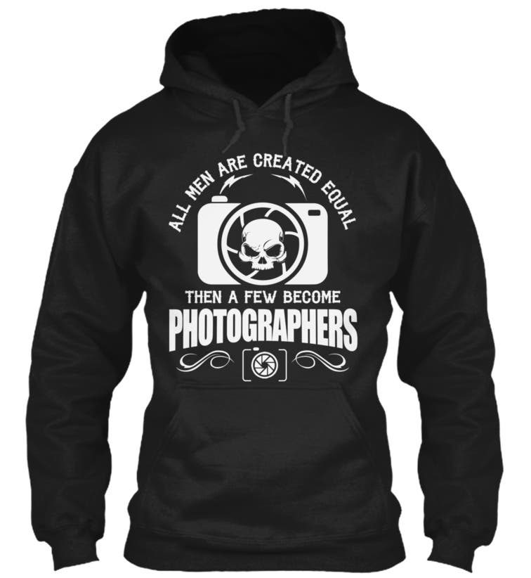 Photographers Hoodie from Teespring front