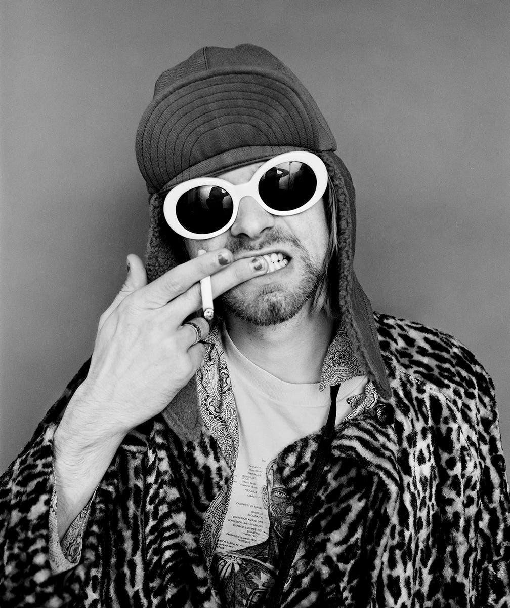 Photographer Jesse Frohman On One of Kurt Cobain's Last Photoshoots