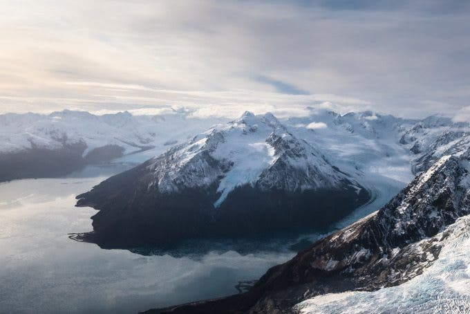 The Great Alaskan Mountain Range. The winning image in our Fujifilm contest