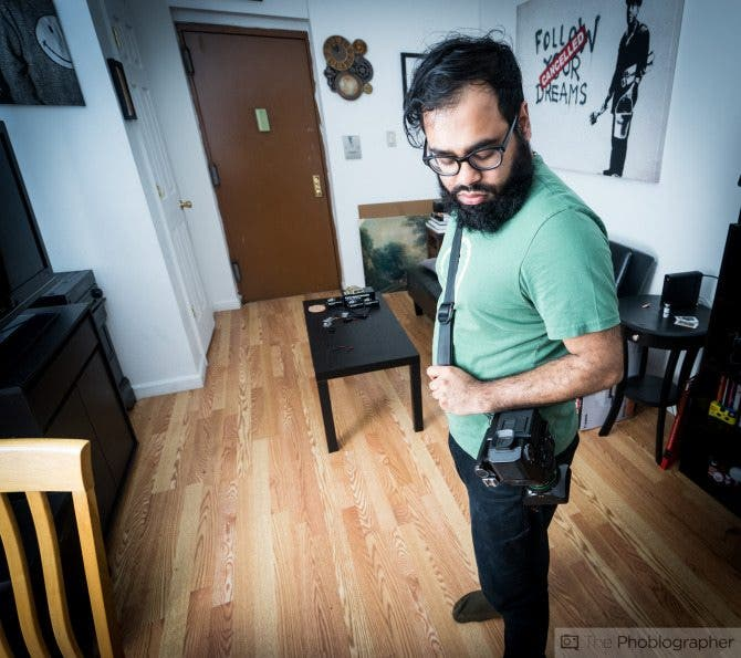 Chris Gampat The Phoblographer Peak Design Slide Camera Strap review product photos (6 of 6)ISO 4001-60 sec at f - 4.0