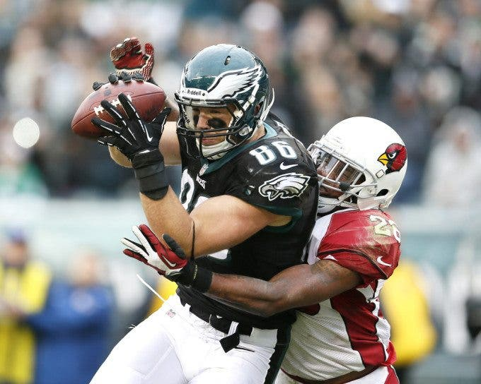 Zach Ertz, Rashad Johnson