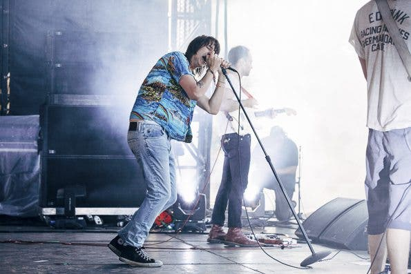 The Strokes perform at Governors Ball 2014