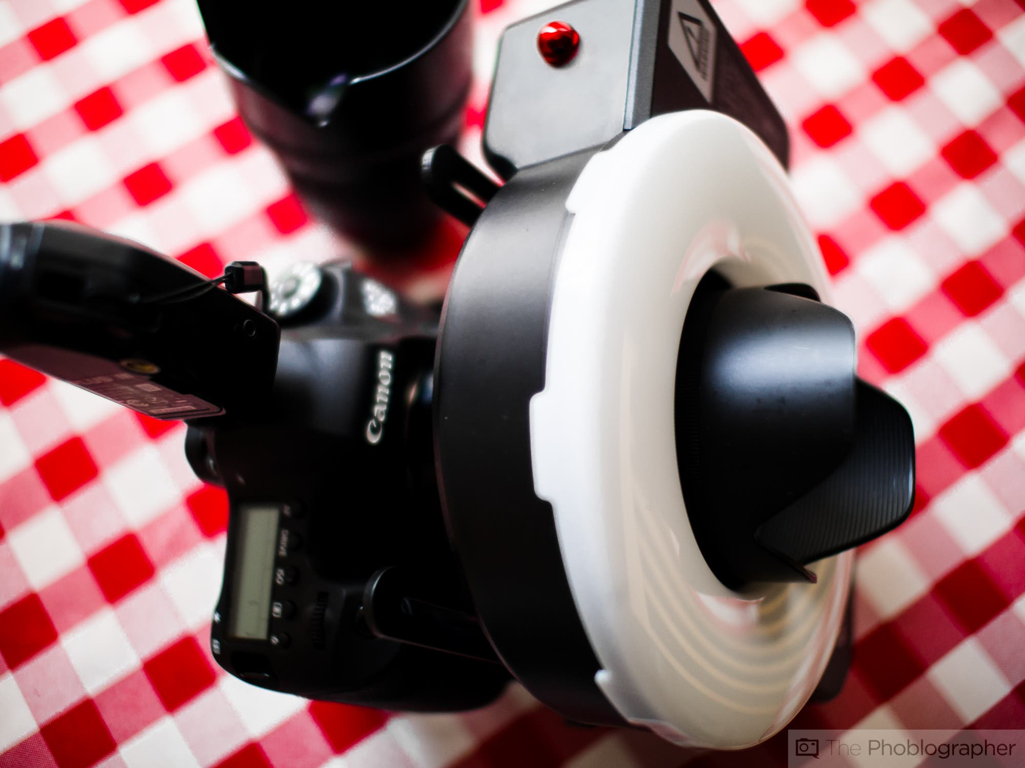 review  godox witstro ar400 ring flash