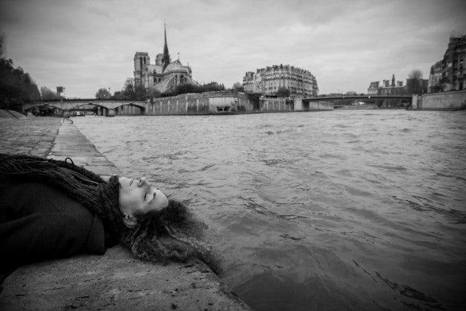 "'I feel so sorry for you, Horacio.' 'Oh no; hold it right there.' 'You know that sometimes I really can see. I see things so clearly. To think that an hour ago I thought the best thing to do would be go jump in the river.' 'Body of an unidentified woman found in Seine… But you swim like a swan.'"" Hopscotch, Chapter 20, Julio Cortázar Why did I choose this passage and place? ""For me Hopscotch is a book you read when you are young, a book of questions and discoveries, but not that many answers. During my youth the metaphysical and festive voyages of Horacio and La Maga, motivated me as much as the Gliglish language. It was one of my first erotic readings, plunged in that river of human and divine mysteries. There were many questions on the meaning of life and death, both tied to each other. The fragment I chose highlights the idea of death as something logic and liberating if done in the Seine, a river that I learnt to like as a character of the book. The concept of the end of life and the image of the river, of the water in the background, made me chose these lines among all the others, all full of images worthy of a masterpiece like Hopscotch."" Erica de Dios Morales Spanish Teacher. Spanish"