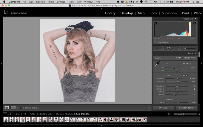 How I've Changed My Adobe Lightroom Editing Workflow