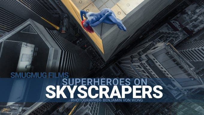 Ben Von Wong Photographs Super Heroes on the Edge of Skyscrapers