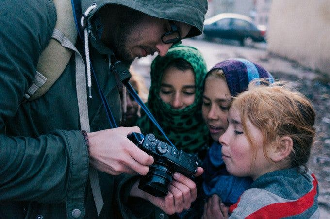 Photographing Syrian Refugees with Esa Ylijaasko