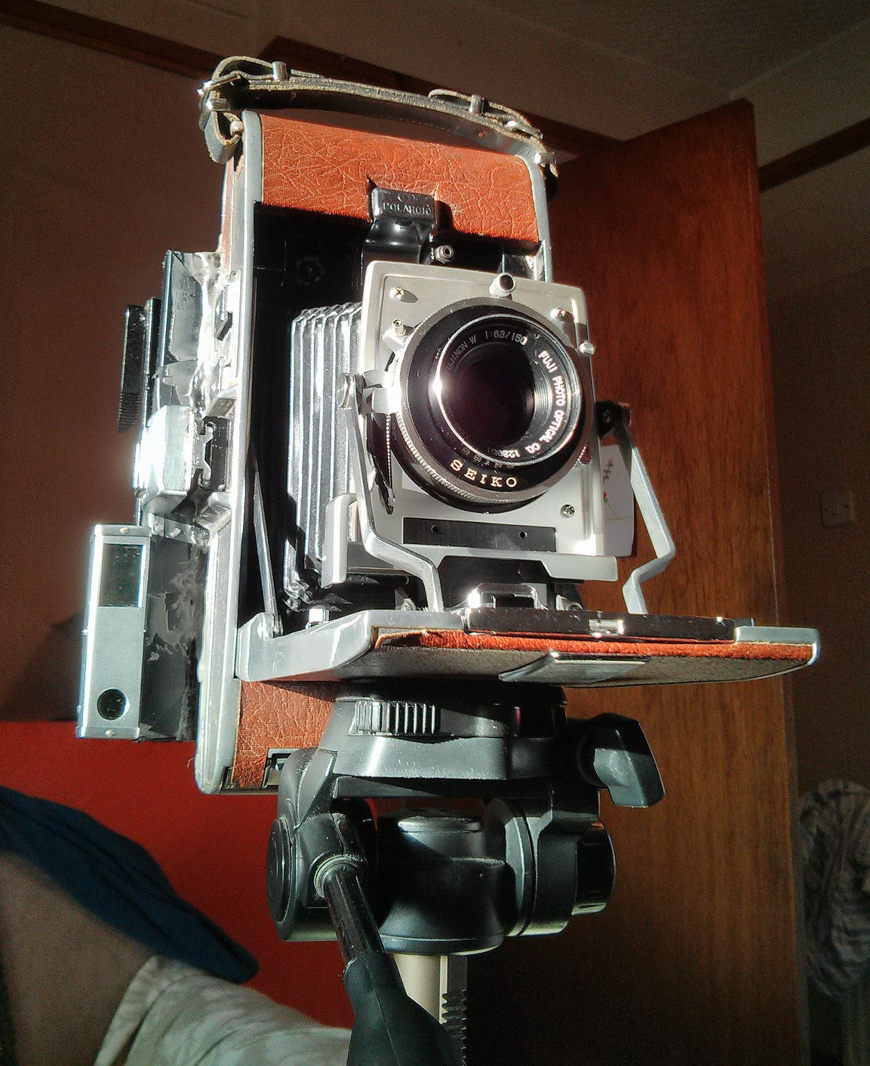 This Polaroid Camera Was Converted to Shoot Large Format