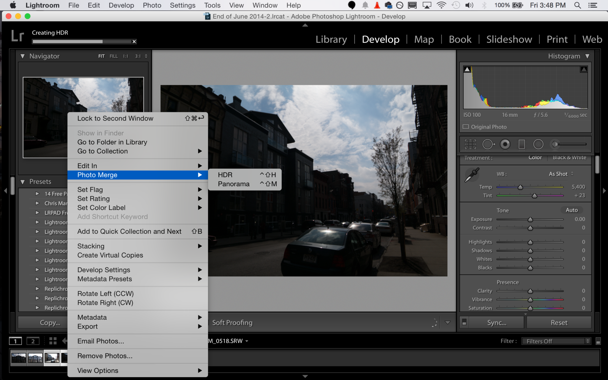 Adobe lightroom сс 6/3