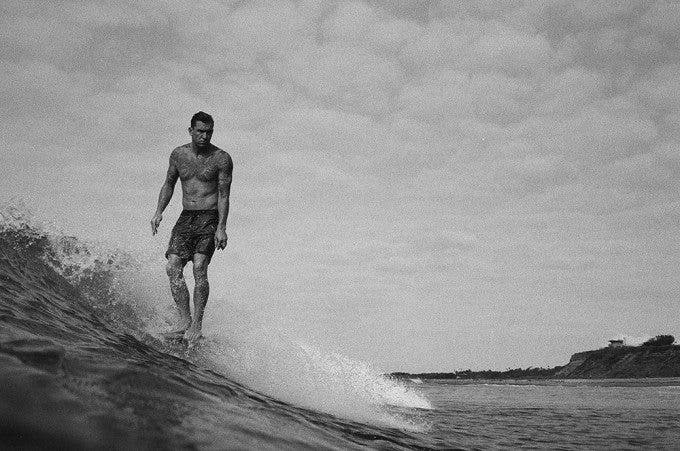 brooks sterling  photographing surfers with film