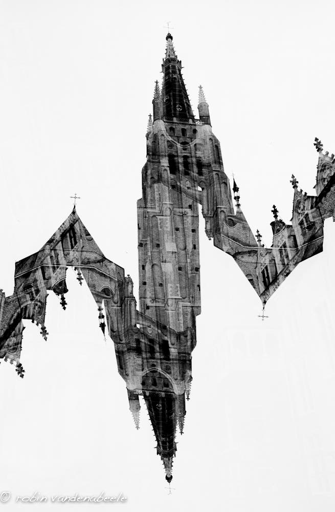 double exposures - bruges 009