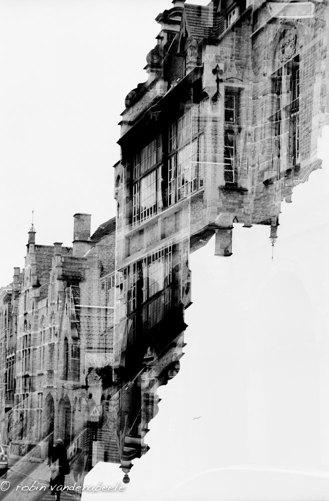 double exposures - bruges 011
