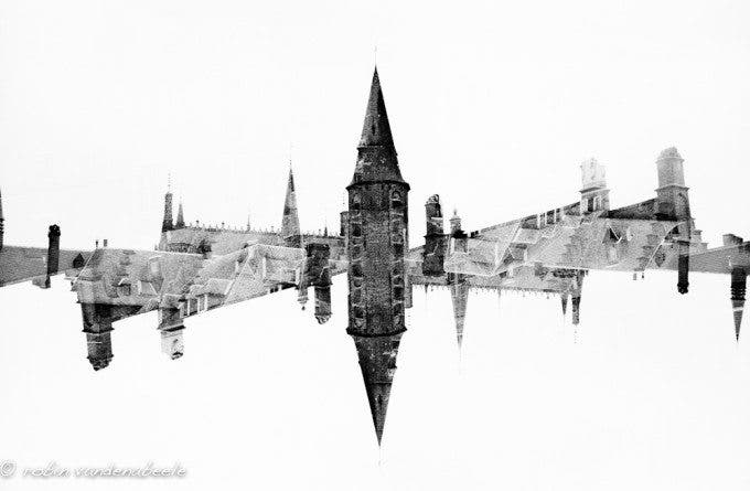 double exposures - bruges 012
