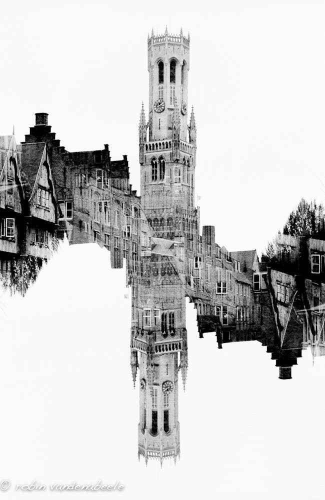 double exposures - bruges 015