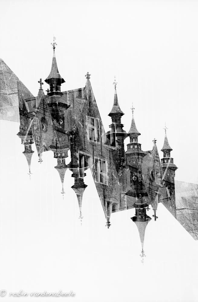 double exposures - bruges 017