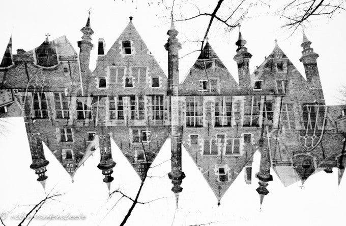 double exposures - bruges 018