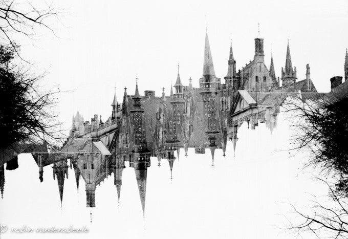 double exposures - bruges 019