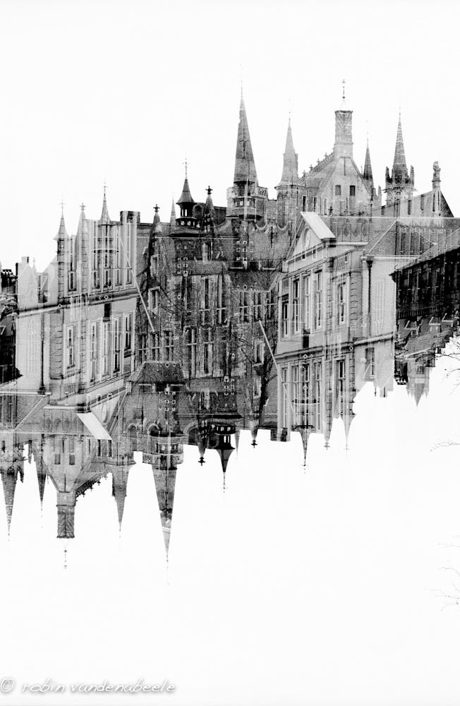 double exposures - bruges 020
