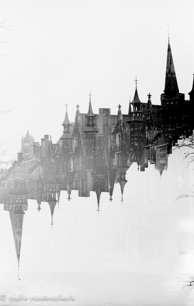 double exposures - bruges 021