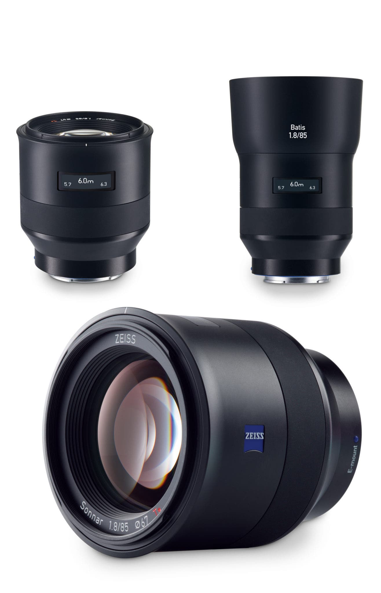 The New Zeiss BATIS Lenses Have an OLED Screen