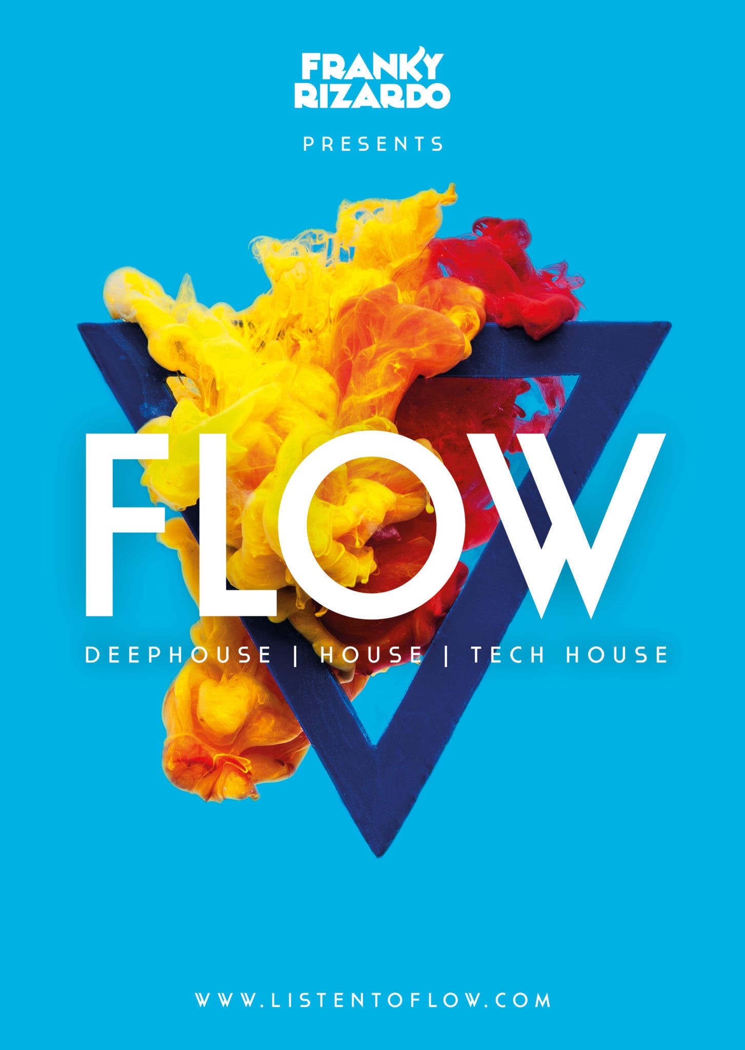 Flow How Photos Of Ink Blots In Water Became A Logo