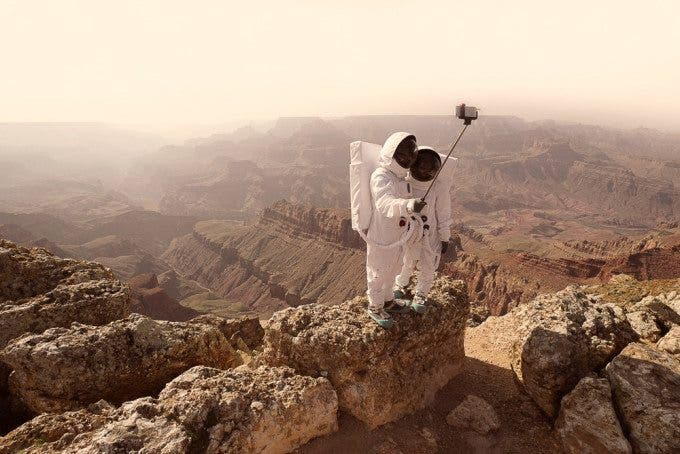 Greetings From Mars: A Photo Story of Loneliness